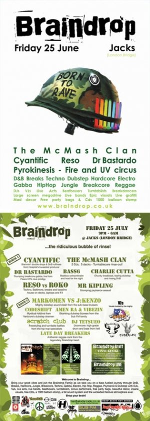 The McMASH CLAN - BRAINDROP 25th July 08'