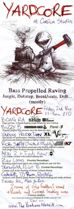 BIZZY B - YARDCORE 2nd November 07'
