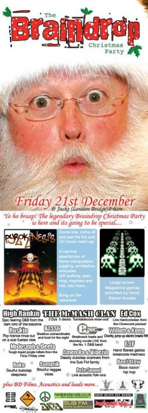 ED COX - BRAINDROP 21st December 07'