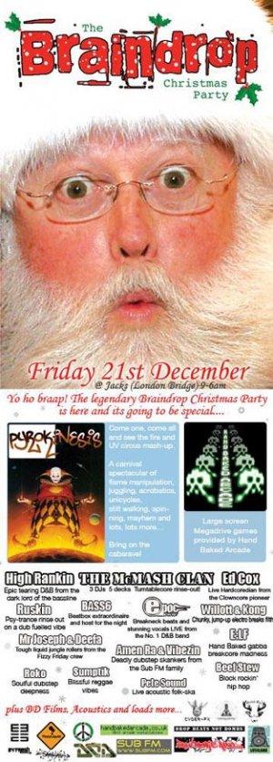The McMASH CLAN - BRAINDROP 21st December 07'