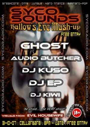 GHOST - SYCO SOUNDS HALLOWEEN MASH UP 31st October 07'
