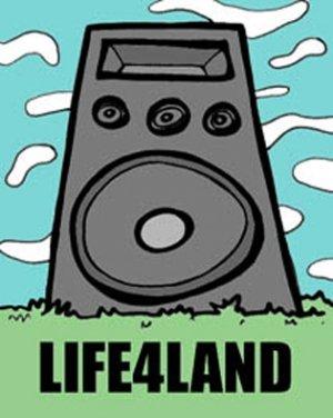 LIFE4LAND - BRAIN DAMAGE RADIO MIX 2 (October 05')