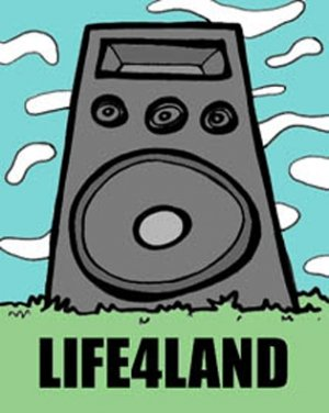 LIFE4LAND - BRAIN DAMAGE RADIO MIX (July 05')