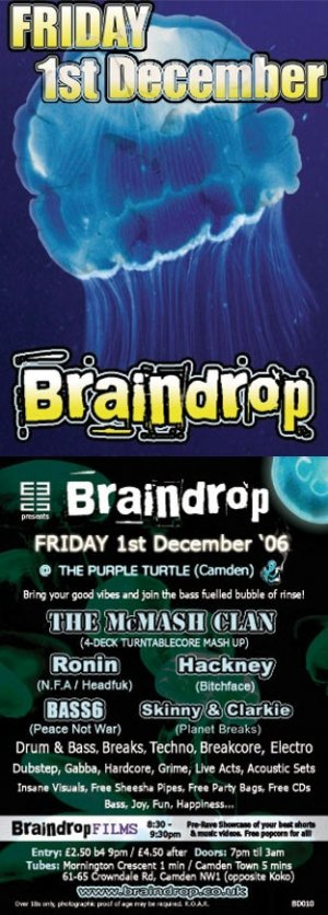 RONIN - BRAINDROP 1st December 06'