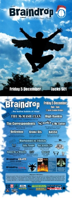 OLD SCHOOL TIE - BRAINDROP 5th December 08'