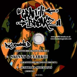 DISOWNED - GRAFFITI BREAKZ 8th November 08' (GB09 Studio mix)