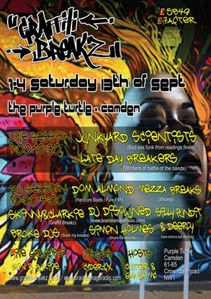 DISOWNED - GRAFFITI BREAKZ - 13th September 08'
