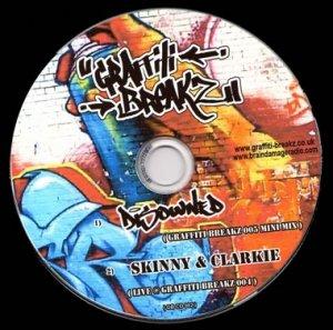 DISOWNED - GRAFFITI BREAKZ - 7th March 08' (GB05 Studio mini mix)