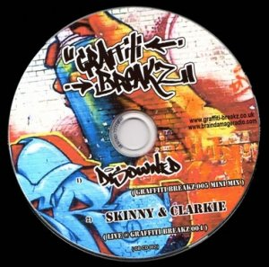 DISOWNED - GRAFFITI BREAKZ - 7th March 08' (GB05 Studio mini mix)
