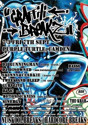 RUNNINGMAN - GRAFFITI BREAKZ 7th September 07'
