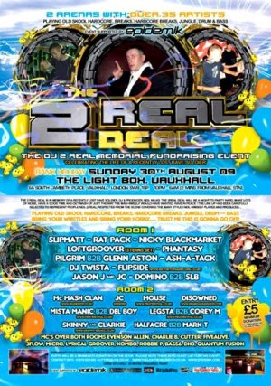 SKINNY & CLARKIE - THE 2REAL DEAL 30th August 09'
