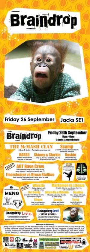 SILLY PUNDIT and DEEROY - BRAINDROP 27th September 08'