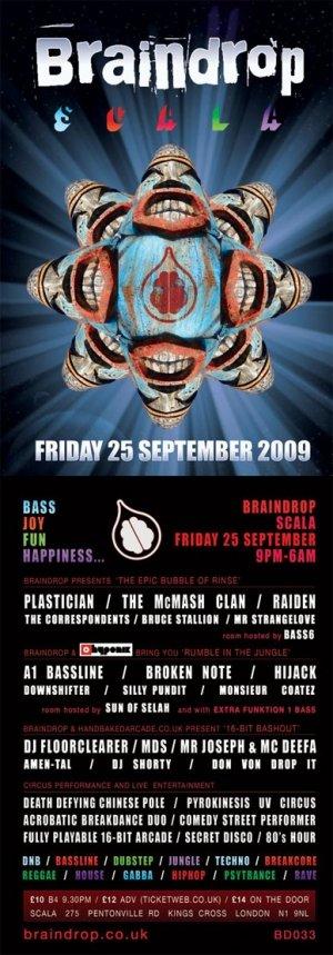 BRUCE STALLION - BRAINDROP 25th September 09'