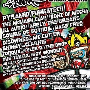 DISOWNED - GRAFFITI BREAKZ (Bassline Samurai) 1st May 10'