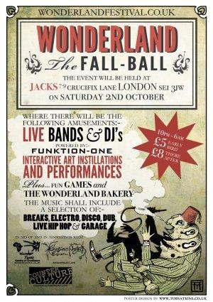 HEADSTOCK & JAWACHE - WONDERLAND (The Fall Ball mix) Oct 2010