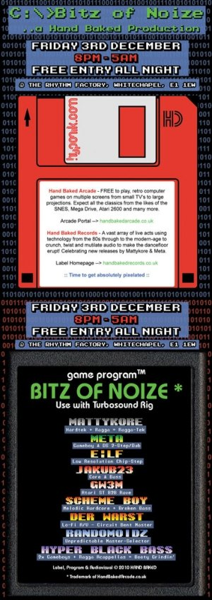 HYPER BLACK BASS - BITZ OF NOIZE - 3rd Dec 2010