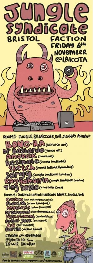 BONG RA - JUNGLE SYNDICATE 6th November 09'