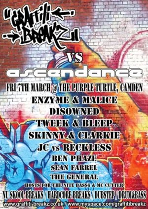 DISOWNED - GRAFFITI BREAKZ vs ASCENDANCE - 7th March 08'
