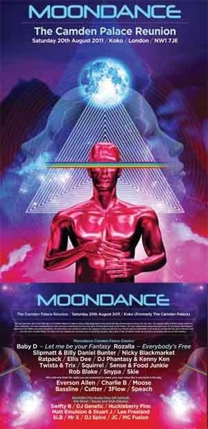 TWISTA - MOONDANCE (CAMDEN PALACE REUNION) PROMO MIX - JULY 2011