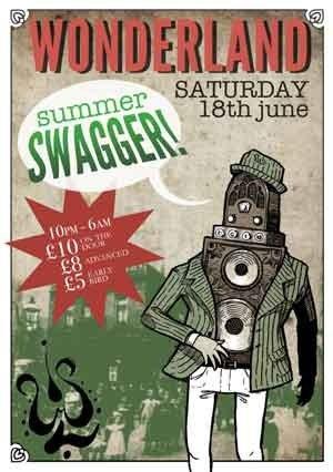 BUNKLE - WONDERLAND (Summer Swagger) 18th June 2011