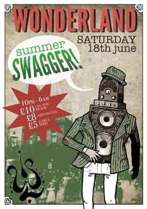 MR MARCH HARE - WONDERLAND (Summer Swagger) 18th June 2011