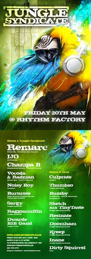 RESINATE - JUNGLE SYNDICATE - LONDON - 20th May 2011