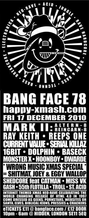 HOONBOY - BANG FACE 78 (Happy Xmash.com) 17th December 2010