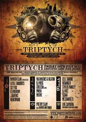 SCRAG - TRIPTYCH - 29th July 2011