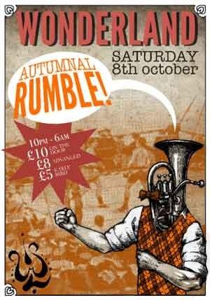 SHAKE2BASS - WONDERLAND (AUTUMNAL RUMBLE) 8th Oct 2011