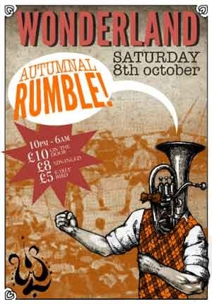 NITRO - WONDERLAND (AUTUMNAL RUMBLE) 8th Oct 2011