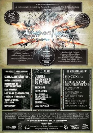 DJ FIEND - ELYSIAN PROJECT 4 (ACIDIC RECORDS AREA) 15th April 2011