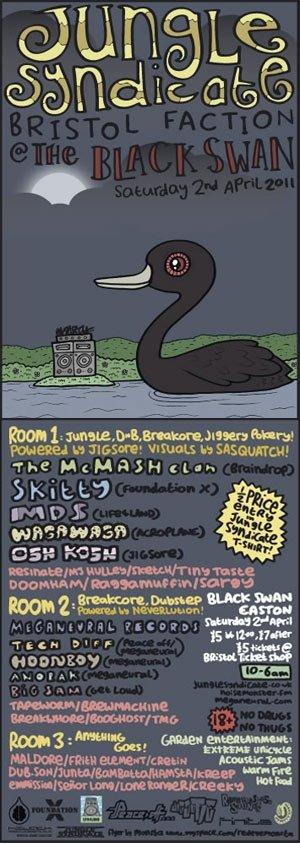OSH KOSH - JUNGLE SYNDICATE 2nd April 2011
