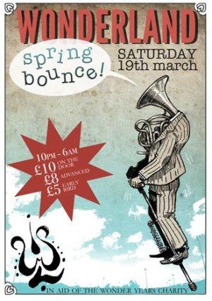 DIGITAL MONKEY - WONDERLAND (Spring Bounce) 19th March 2011