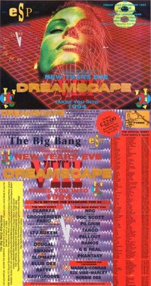 FABIO & GROOVERIDER - DREAMSCAPE 8 - 31st Dec 93'