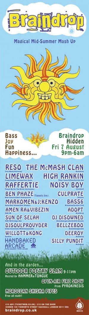 RAFFERTIE - BRAINDROP (Hidden) 7th August 09'
