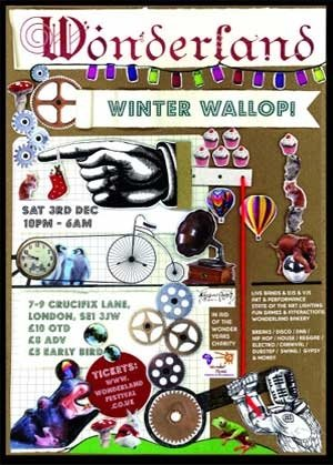 SUBCULTURE SOUNDS - WONDERLAND (Winter Wallop) 3rd Dec 2011