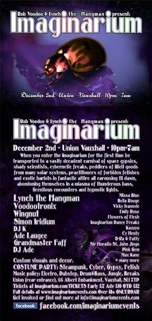 ADE LAUGEE - IMAGINARIUM  - 2nd Dec 2011