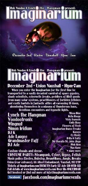 ADE LAUGEE - IMAGINARIUM  - 2nd Dec 2011