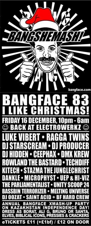 THE PARLIAMENTALIST - BANGFACE 83 - 16th December 2011