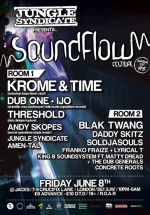 IJO - JUNGLE SYNDICATE  - (Soundflow Warm up) - 8th June 2012