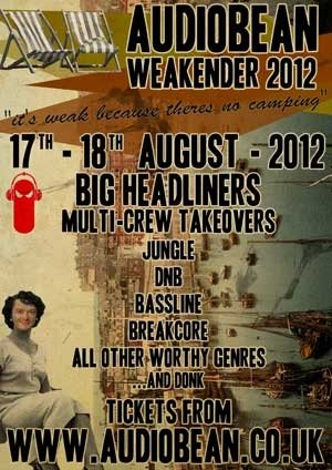 DISOWNED - AUDIOBEAN WEAKENDER - 17th/18th August 2012