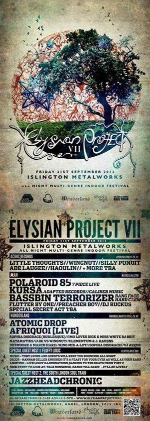 ELEMENTUM vs J.RAVENS - ELYSIAN PROJECT 7 (Wonderland Room) 21st September 2012