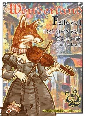DIGITAL MONKEY - WONDERLAND (Falls Well That Ends Well) 20th October 2012