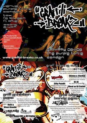 DISOWNED - GRAFFITI BREAKZ - 8th November 08'