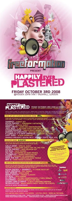 DISOWNED - FREEFORMATION - 3rd October 08'