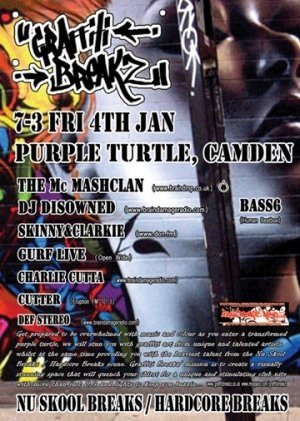 DISOWNED - GRAFFITI BREAKZ - 4th January 08'