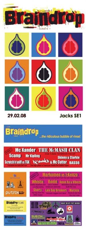 MARK OMEN & J:KENZO - BRAINDROP 29th February 08'