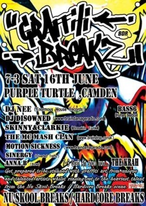 DISOWNED - GRAFFITI BREAKZ 16th June 07' (GB01 Studio mix)