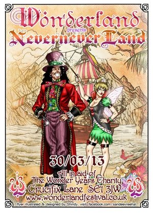 / AJ MYST - WONDERLAND (Nevernever Land) - 30th March 2013