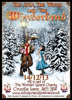 DAN D.LION - WONDERLAND (The Lion the Witch and the Wonderland) 13th Dec 2013